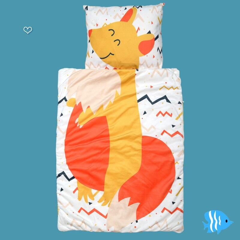 0-3 Year Cute Cartoon Fox Originality Infant Sleeping Bag Autumn Soft Cotton Keep Warm Separation Children For Baby Care Pajamas
