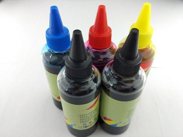 Specialized DYE Ink use For hp deskjet 3520 3521 3522 officejet 4610 4620  photosmart 5510 5511 5512 printers UV Resistant Ink-in Ink Refill Kits from
