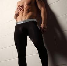 Free Shipping Male Long Johns Men's Modal Longwears Thin Thermal Underwears Men Autumn And Winter Basic Underpants