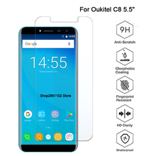 9H Tempered Glass for Oukitel C8 Screen Protector Phone Protective Film Screen Protector for Oukitel C8 Glass case c 8 glas