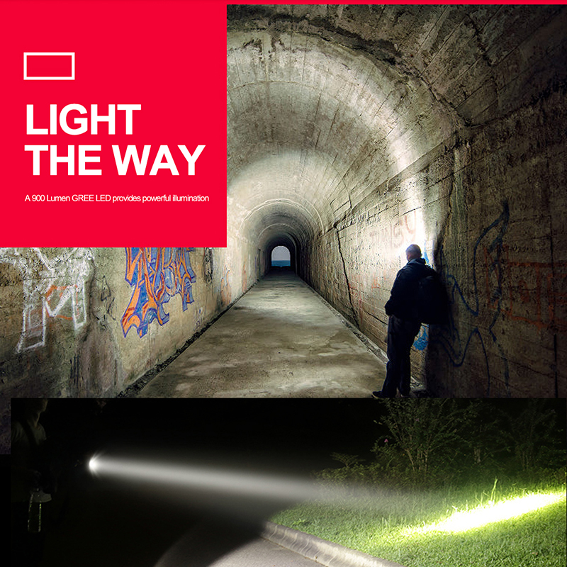 10000 lumens Super Bright LED Flashlight XHP50 XHP70 Stepless dimming High Power Led torch use 2 26650 battery outdoor lighting in LED Flashlights from Lights Lighting