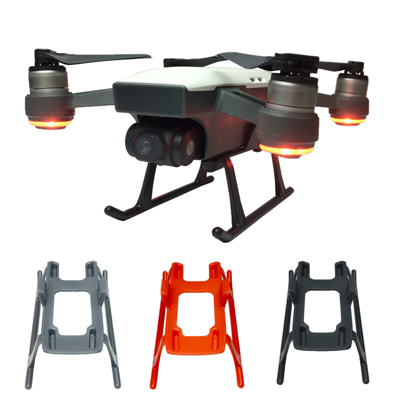 For DJI Spark font b Drone b font Heightened Landing Gear Extender Protector Landing Legs Undercarriage