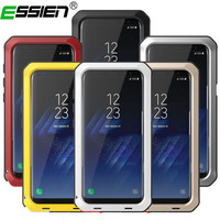 Essien Luxury Metal Case For Iphone 6 Armor Outdoor Shockproof Aluminum Life Waterproof Case Cover Heavy