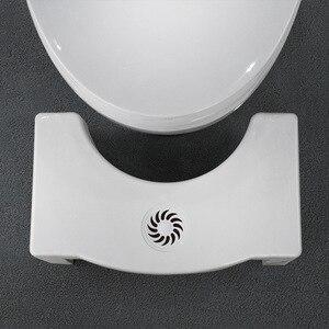 Image 4 - Складной на корточках стула Нескользящая Туалет стопы табурет, горшок ног туалет стула