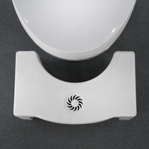 Image 4 - Składane kucki stołek antypoślizgowe wc stóp stołek nocnik podnóżek wc stołek