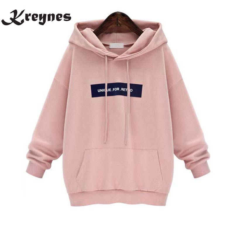Women Autumn Winter Sweatshirt Casual Double Hoodies Long Sleeve Female Pullover Loose Tops Sweatshirts Women s