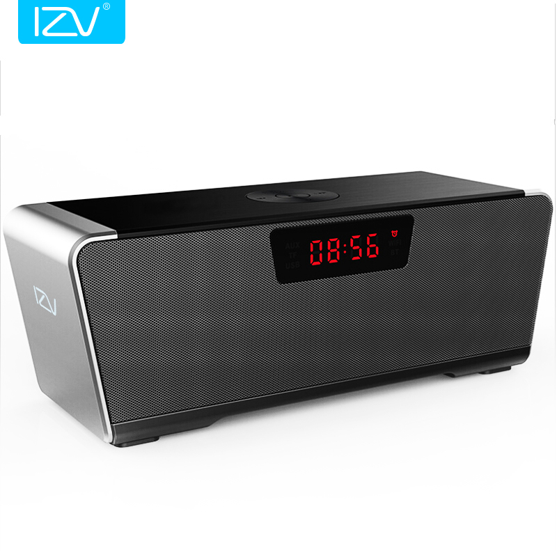 iZV Wireless 20W Bluetooth Speaker 4.1 HiFi Power stereo Outdoor PC portable subwoofer Support TF card 3.5mm AUX USB disk input 20w portable wooden high power bluetooth speaker dancing loudspeaker wireless stereo super bass boombox radio receiver subwoofer
