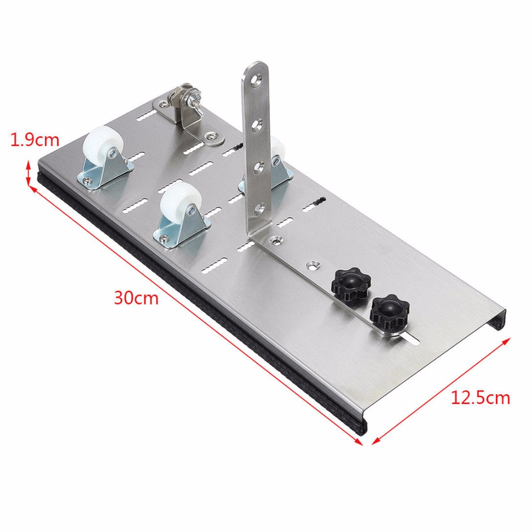 Durable Glass Wine Bottle Cutter Silver 300*125*19mm Cutting Machine DIY Craft Cutting Tools