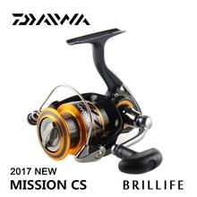 DAIWA 2017 New MISSION CS Spinning Fishing Reel Original 2000/2500/3000/4000 Series 4BB lure rock sea fishing  Spinning Reel