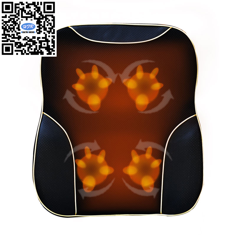 HFR-838-1C Health Forever Brand 3D Palm Type Massage Head Electric Kneading Shiatsu Back Massage Cushion