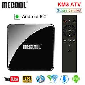 MECOOL KM3 ATV Androidtv 9.0 G