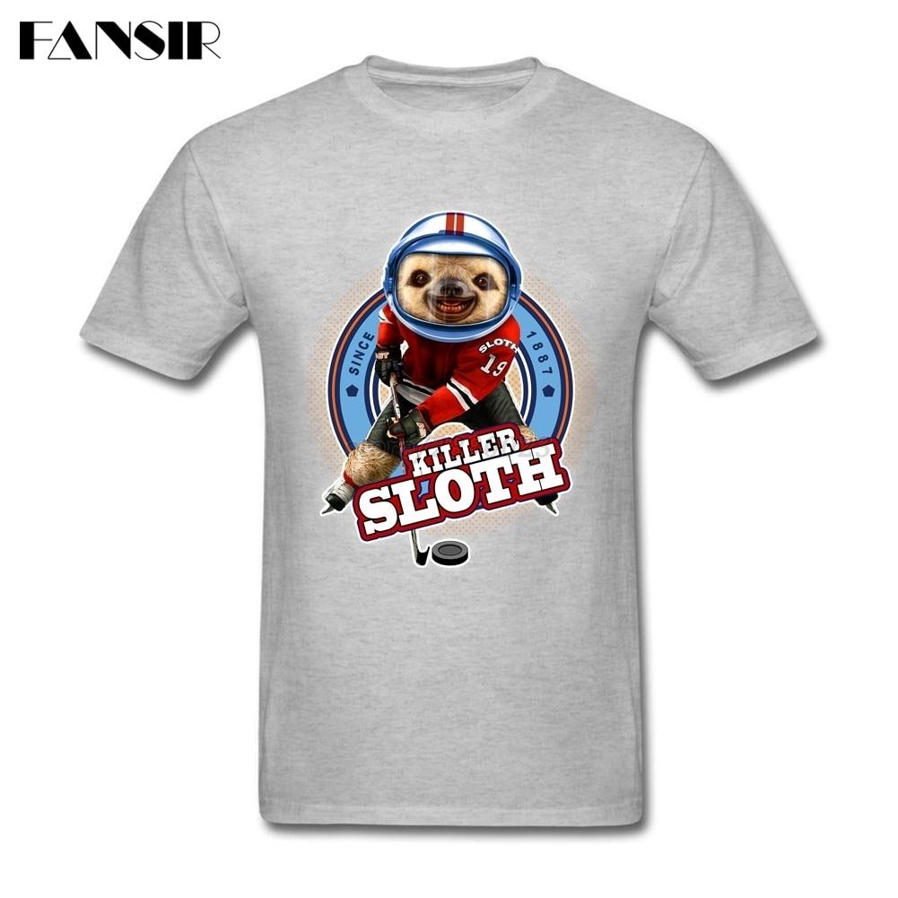 Design tshirt online canada - Killer Sloth Canada Cartoon Men Tshirt Top Designed T Shirts Men Man S Short Sleeve O Neck