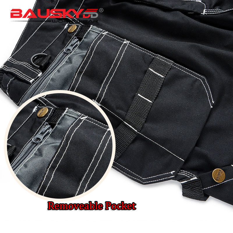 Image 4 - Men Working Pants Multi Functional Pockets Wear resistance Workwear trousers High quality Work Mechanic Repair Mens Cargo Pants-in Safety Clothing from Security & Protection