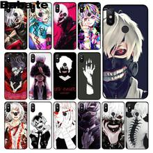 Babaite Japanese anime Tokyo Ghoul Japan TPU black Phone Case Shell for xiaomi mi 6 8 se note2 3 mix2 redmi 5 5plus note 4 5 5(China)