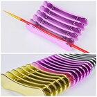 5 Grid Nail Art Penh...