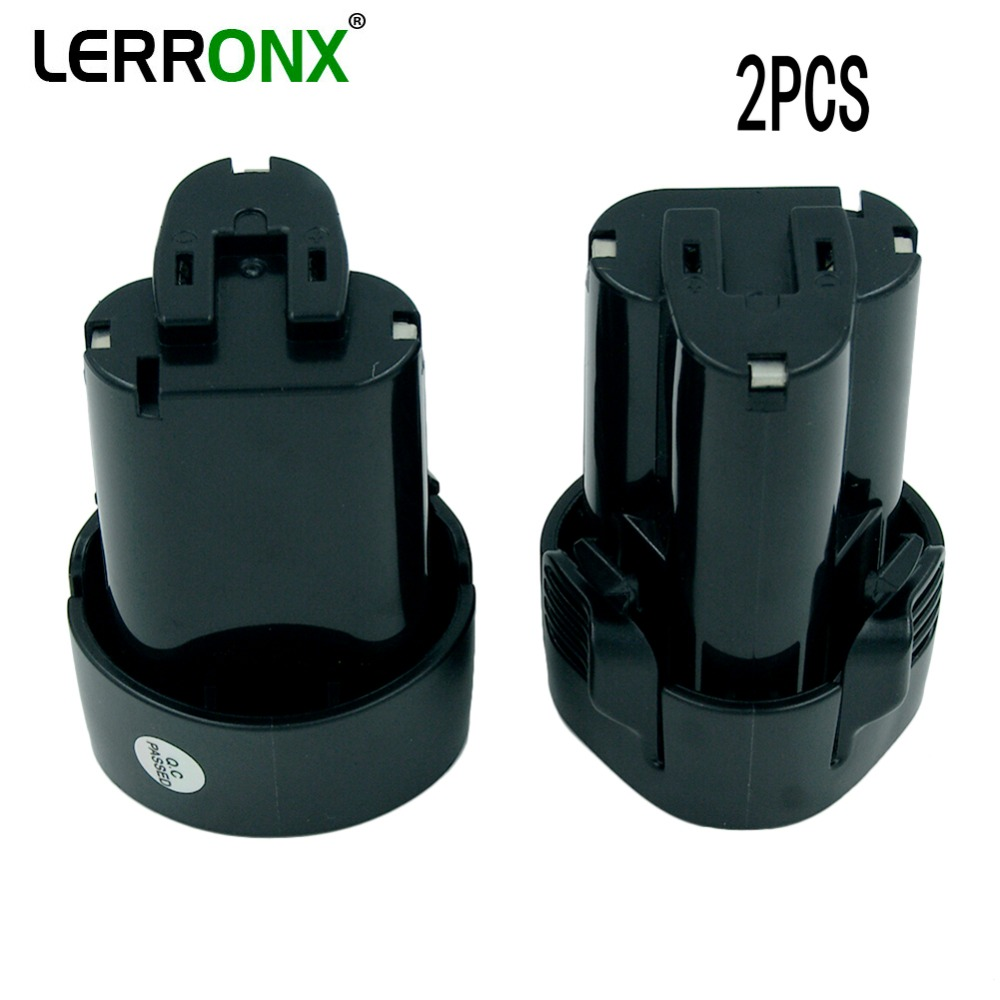 LERRONX 2PCS BL1013 Li ion10.8V 2.0Ah Replacement Battery for Makita Power Tool 194550 6 194551 4 Lithium Rechargeable battery-in Replacement Batteries from Consumer Electronics