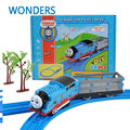 Thomas And Friends 90cm long Electric Thomas Trains Set With Rail Toys For Children Boys Kids Toys Jugetes Para Ninos