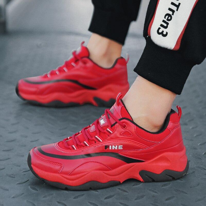 Mâle white Rouge Casual De Noir Luxe Plat Chaussures red F Black Qualité Nouveau Hommes Haute Mode Jaune Respirant Blanc Designer 2 Sneakers Mumueli 2019 Tgqpwxg