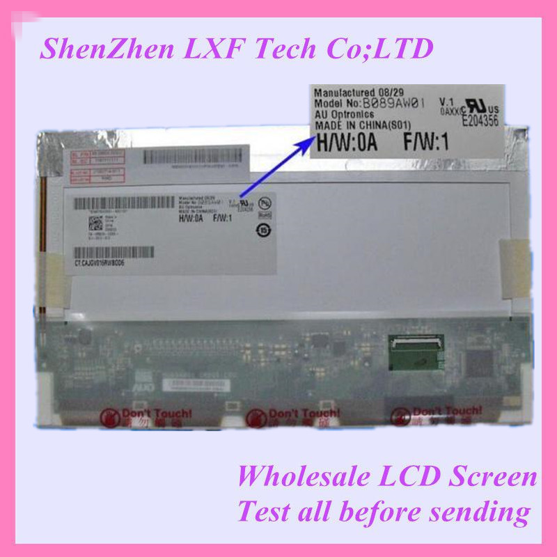 8.9 Lcd Led Screen For Acer Aspire One A150 ZG5 KAV10 Laptop Display Matrix Screen B089AW01 N089L6-L02