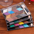 Maquiagem Professional 16 Colors Fashion Eyeshadow Palette Natural Cosmetics Makeup Eye Shadow with Brush