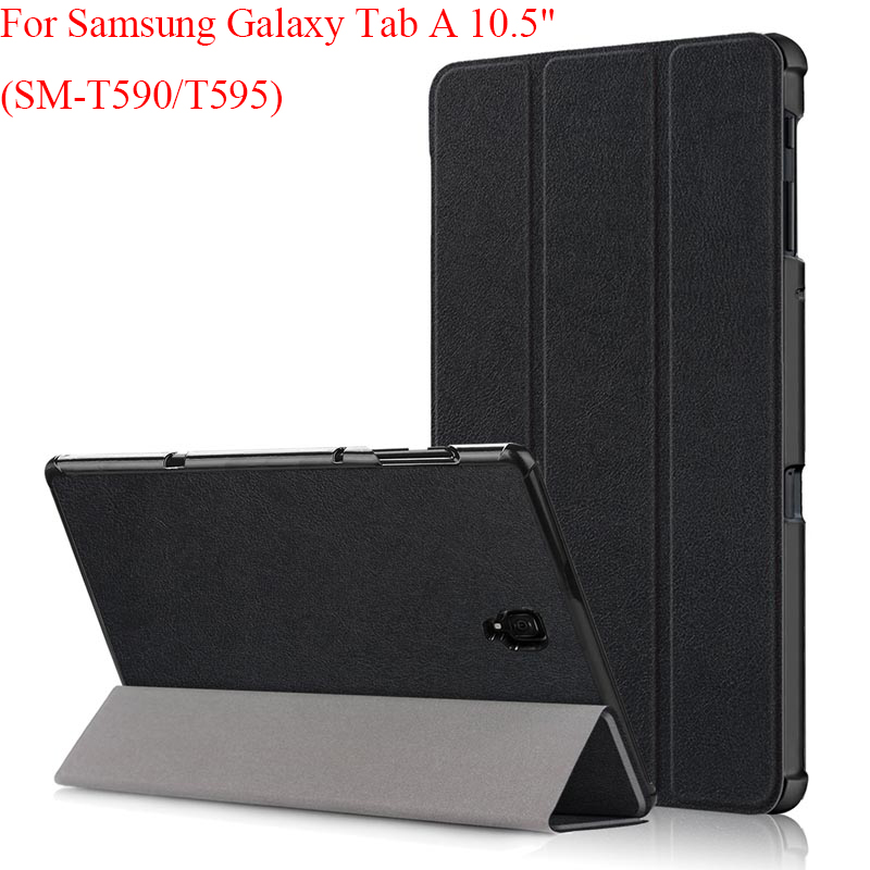 Magnet Smart Sleep Wake Up Cover For Samsung Galaxy Tab A 10.5 2018 SM-T590 SM-T595 T590 T595 Case For Samsung Tab A 10.5