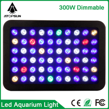 1PCS Dimmable 165W Freshwater Fish Coral Plants Grow Light Aquarium Marine Aquarium Led Lighting Coral Reef Manual Control
