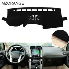 MZORANGE For Toyota PRADO 2010-2014 2015 2016 2017 2018 Car Dashboard Cover Avoid Light Pad Instrument Platform Dash Board Cover dongzhen fit for mitsubishi asx 2011 to 2016 car dashboard cover avoid light pad instrument platform dash board cover