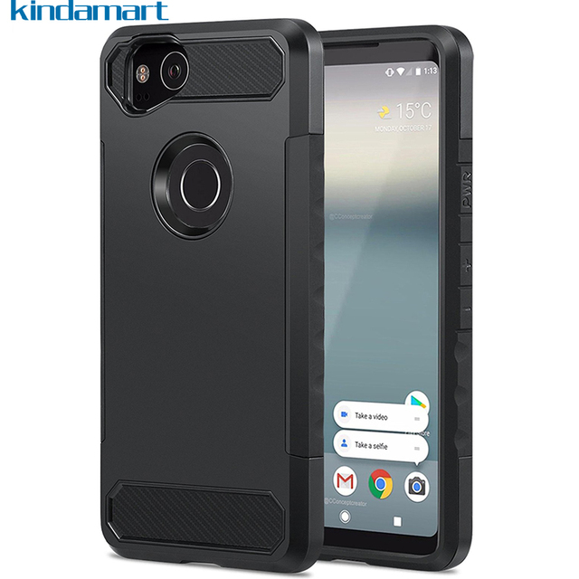 new styles 0f769 2de7a US $2.72 9% OFF|Tough Armor For Google Pixel 2 Case For Google Pixel 2 XL  Case Heavy Duty Rubber Drop Shockproof Cover Case For Google Pixel 2-in ...