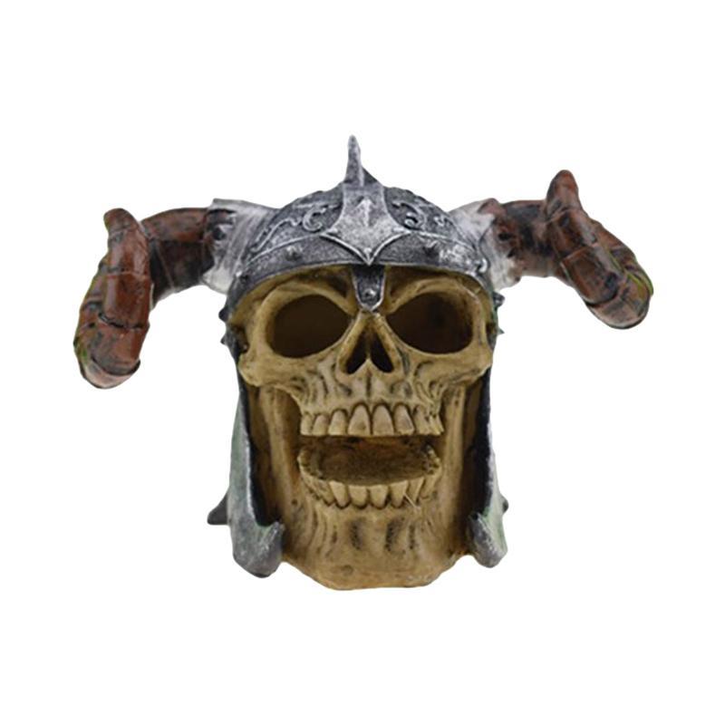Halloween Crâne Décor Parodie Humains Résine Comédie D'horreur Nouveauté Réaliste Crâne Tête Forme Jouet Prop Décor Ornement