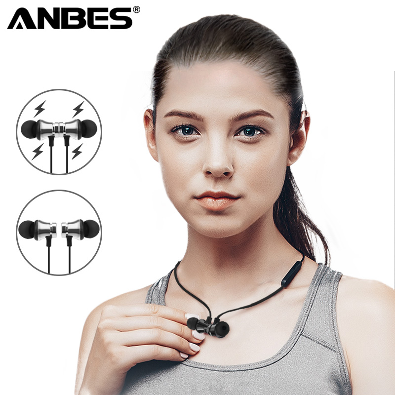 New Left Right Side Earbud Magnetic Design Sports Wireless Headphones Bluetooth Music Earphone for Android iPhone 5gbp s new elbow design left