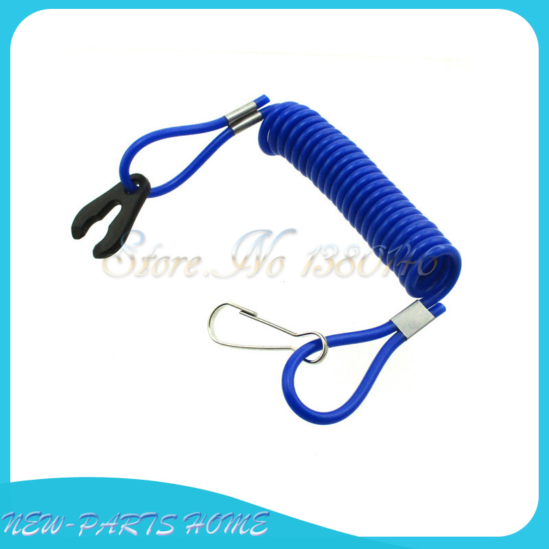 US $4 24 11% OFF Safety Tether Lanyard Cord For Kill Switch Jet Ski Boat  Yamaha Raptor Banshee Blaster ATV-in Engine Cooling & Accessories from