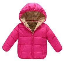 0a77671f3 BibiCola invierno Bebé chaquetas algodón nieve abrigos bebé espesar  caliente terciopelo Parkas niños niño chaquetas abrigos ropa