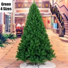 4 Sizes Iron Feet Green Christmas Pine Tree