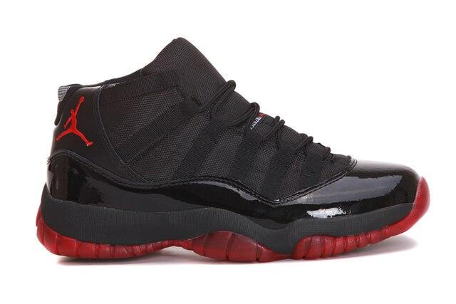 buy popular 32087 6ea5b US $51.94 42% OFF|Jordan 11 Retro Win Like 96 Men's Sneakers Basketball  Shoes,Original New Arrival Men Sports Shoes AJ11 Outdoor Shoes-in  Basketball ...