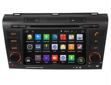 Rom 16 G 1024 * 600 Quad Core Android 5.1 Fit MAZDA 3 MAZDA3 2004 2005 2006 2007 – 2009 Car stereo DVD Player GPS TV 3 G radio