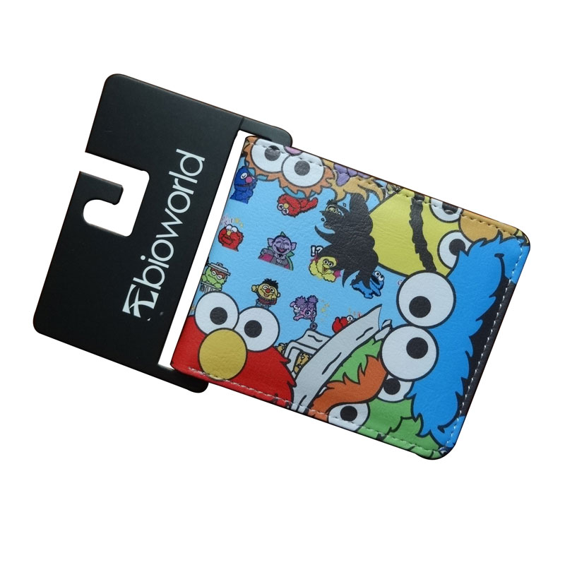 Cartoon Adventure Time Purse Sesame Street Lovely Bags Wallets Dollar Price Card Money Holder for Kids Boy Girl Short Wallet new cartoon wallet fallout print purse pu leather card money bags carteira dollar price men women lovely short wallets