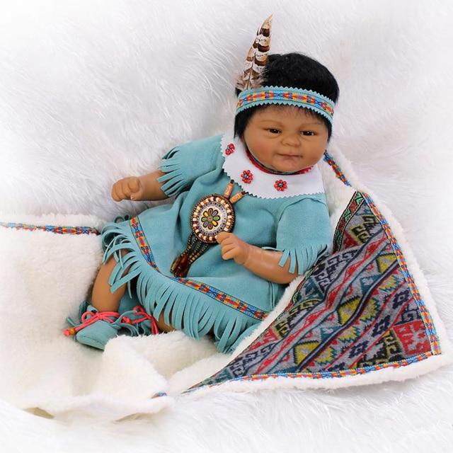 Lifelike Reborn Dolls Babies Native American Indian