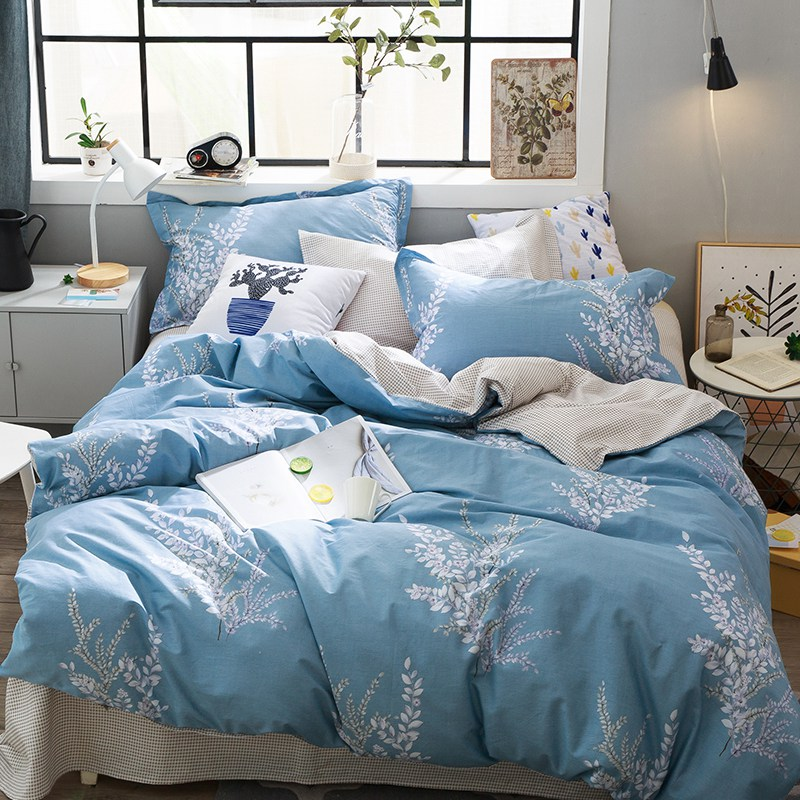 Tutubird Sweet Stars Bedding Set Fish Floral Cactus