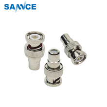 SANNCE 10Pcs/lot CCTV Connector BNC Connector BNC TO AV for CCTV Surveillance Camera System Kit