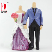Wedding Cake Topper wedding gift custom avatar personality custom real doll custom clay dolls fixed resin body SR208