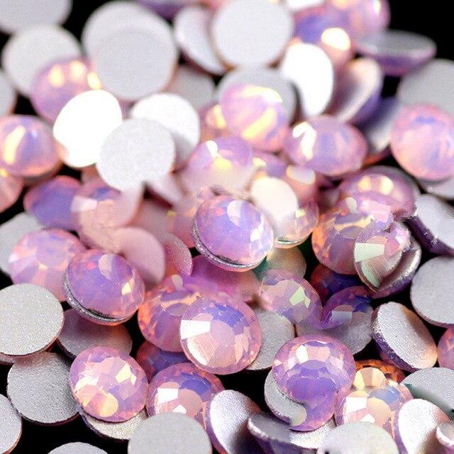 Опалы для Гвозди Книги по искусству Аксессуары кристаллы опал Стразы для Гвозди Опал Драгоценных Камней strass Ongles Стразы Камни для ногтей ZJ1244