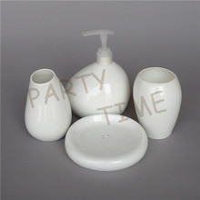 Bone China High Quality Bathroom Set White Gargle Home Decoration