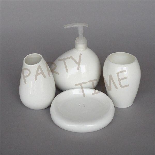 Os chine haute qualité salle de bain ensemble blanc salle de bain gargarisme ensemble décoration de la maison