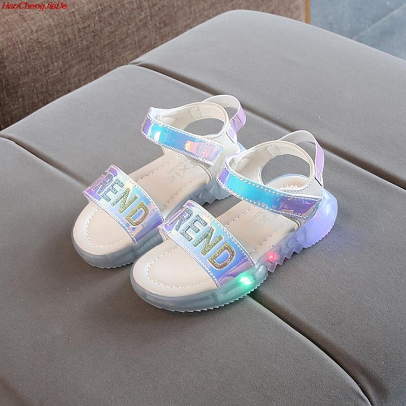 Kids Led Sandals Light up Children Summer shoes Glowing Sandals for Boys and Girls Flashing Soft beach shoes for ToddlerKids Led Sandals Light up Children Summer shoes Glowing Sandals for Boys and Girls Flashing Soft beach shoes for Toddler