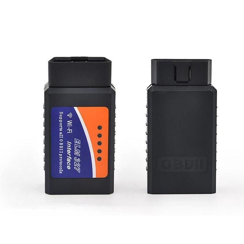 ELM327 WI-FI Беспроводной ELM 327 OBD2 OBDII автоматический диагностический сканер инструмент адаптер для смартфона/ПК/IOS/Iphone /iPad/lr-5