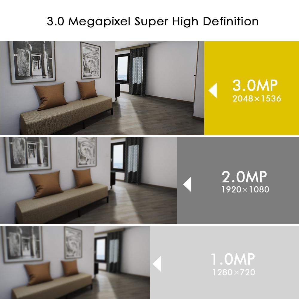 Hiseeu Ultra HD 3MP 1080P Security Camera 8