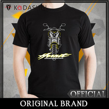 KODASKIN car Loose Round Neck 100% cotton Fashion Summer print Free Shipping HORNET MOTOROLA T-shirt