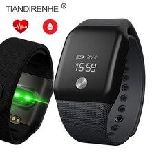 A88 сердечного ритма Мониторы крови кислородом Smart Band Беспроводные устройства браслет трекер Фитнес Браслет для Android для IOS