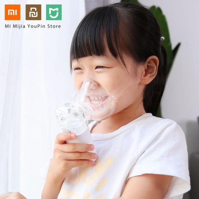 Xiaom Mijia Jiuan Andon נייד מיקרו-מרסס Nebulizer מיני כף יד משאף הנשמה לילדים ומבוגרים שיעול פינוק