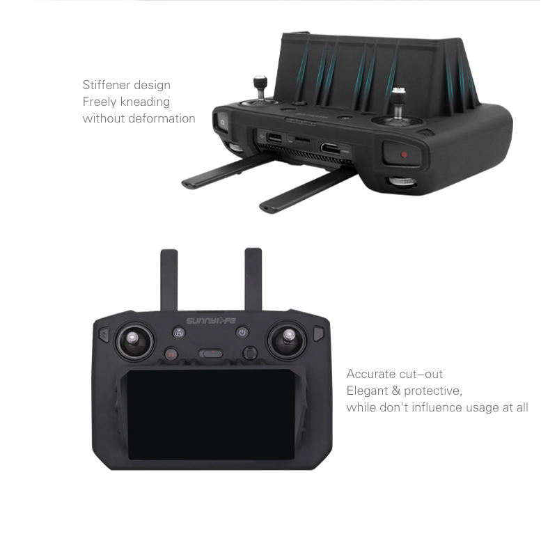 mavic 2 Smart remote control with screen silicone protection cover with sun shade hood for dji mavic 2 pro zoom drone Accessories 1 (13)